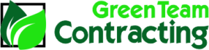 Green Team Contracting Lawn Care Logo